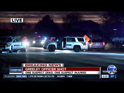 Officer shot in pursuit, shootout in Weld County; 1 suspect dead