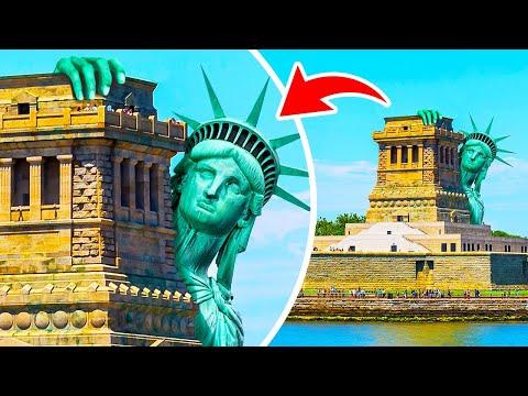 Co by se stalo, kdyby socha Svobody najednou zmizela?