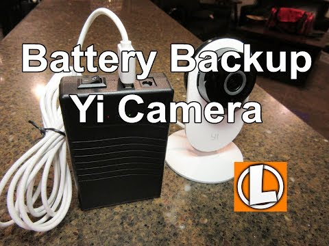 Download Yi Home And Dome Cameras Backup Battery Power Supply Video