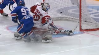 2019 Gagarin Cup, Lokomotiv 4 SKA 5 OT, 21 March 2019 (Series 1-4)