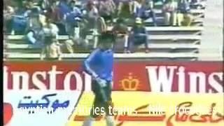 لقاء المغرب ومصر فى تصفيات كأس العالم 1986 لقاء كازابلانكا