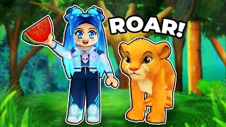 The CUTE Animals in Roblox Zoo Obby!