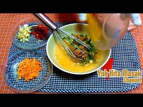 Video Cara Membuat dan Resep Omelet Telur Sederhana