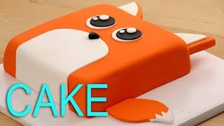 AMAZING FOX CAKE!! 😍