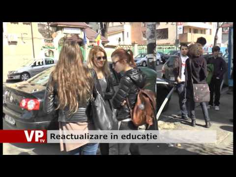 Reactualizare în educație