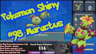 Maractus  - (Pokémon) - Live Shiny Maractus 534 Dexnav - Pokemon Omega Ruby & Alpha Sapphire