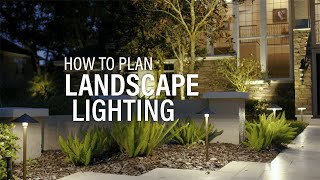 How To Install Landscape Lighting - Start With An Outdoor Lighting Plan
