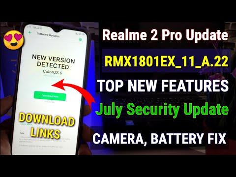 Realme 2 software update version  11-A 14   what's new?? - смотреть