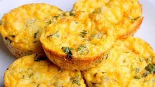 recipe for eggs cooked in a muffin tin