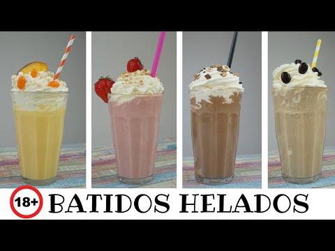 BATIDOS HELADOS SOLO ADULTOS⛔🔞/ CAFÉ IRLANDÉS / CHOCOLATE / FRESA / MELOCOTÓN