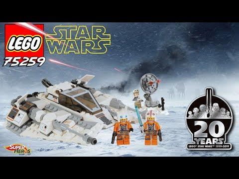 Vidéo LEGO Star Wars 75259 : Snowspeeder – Édition 20ème anniversaire