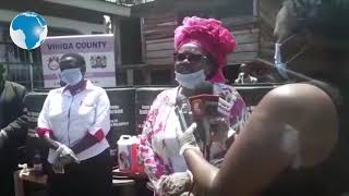 Vihiga Woman Rep Beatrice Adagala urges residents to stay at home to