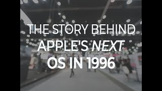 The story behind Apple's NeXT OS in 1996