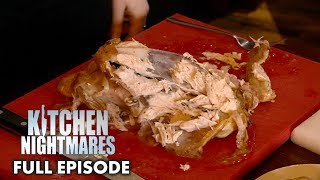 Gordon Ramsay Teaches Owners How To Carve A Roast Chicken | Kitchen Nightmares FULL EPISODE