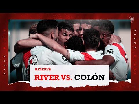 River Plate 7 vs. Colón 0 [Reserva - Partido completo]