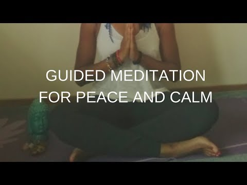 #SerenitySunday: Guided Meditation for Peace & Calm