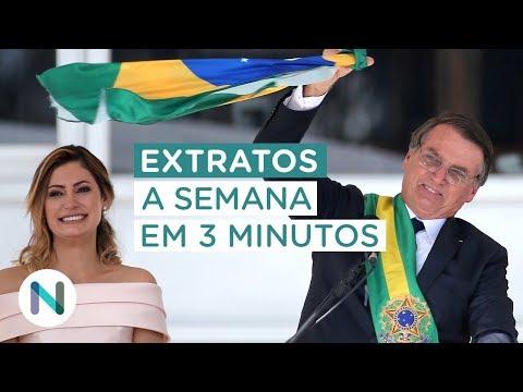 A posse de Bolsonaro. As primeiras medidas e sinais. E mais