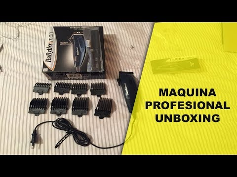 Maquina para Corte de cabello | Babyliss for men | Unboxing