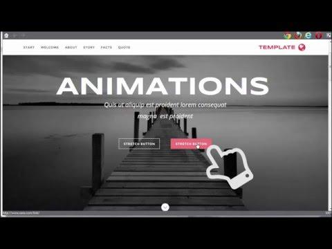 Web Animations in Xara Web Designer Premium & Designer Pro