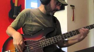 Chromeo - Over Your Shoulder (Bass Cover)