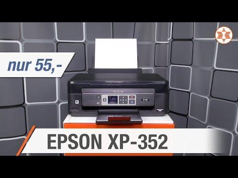Epson EXPRESSION HOME XP-352 für nur 55 Euro - Die TOP FEATURES │ Angebot der Woche