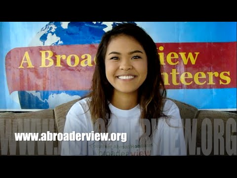 Video Review Volunteer Thu Nguyen Honduras La Ceiba Premed Program with Abroaderview.org