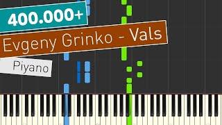 Evgeny Grinko - Vals - Piyano