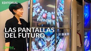 LG nos enseña pantallas transparentes, 8K y monitores portátiles en el CES 2019