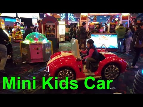 Driving Giant Toy Car Great Canadian Midway Toys And Games Center Niagra Falls