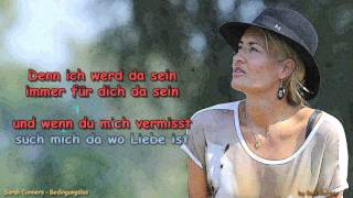 Sarah Connor Bedingungslos with Voice and Lyrics Remix by Rolf Rattay