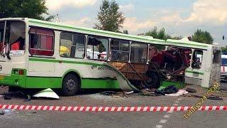 Аварии автобусов - дтп с участием автобуса. Видео Подборка