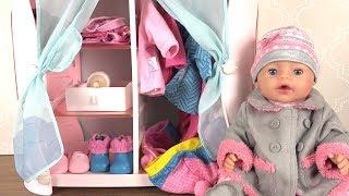 Poupon Lit et Armoire Baby Annabell Sweet Dreams Bed ♥ Chambre de Poupée