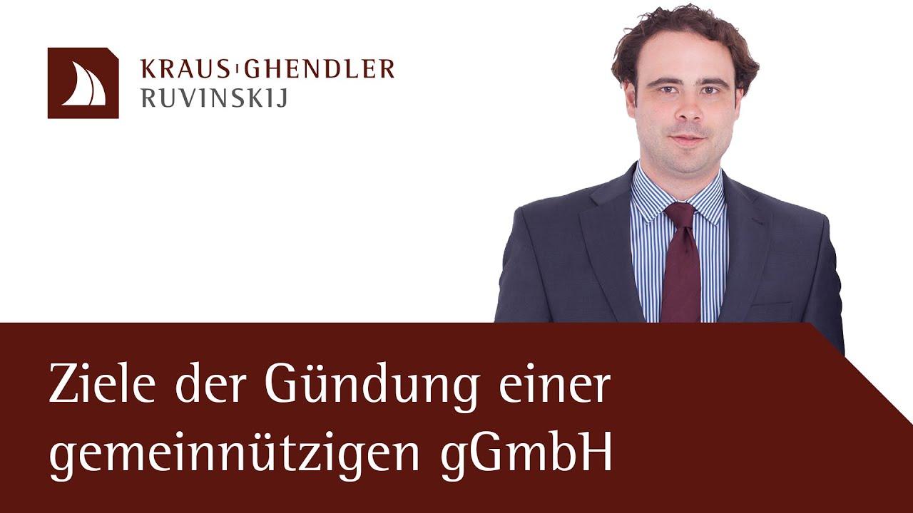 Ziele der Gründung einer gemeinnützigen gGmbH
