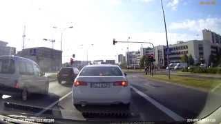 preview picture of video 'Przejazd z rana przez Rzeszów'