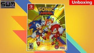 Sonic Mania Plus Nintendo Switch Unboxing