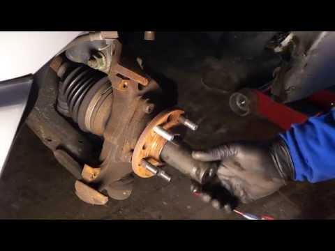How To Replace Sunfire/Cavalier Wheel Bearing