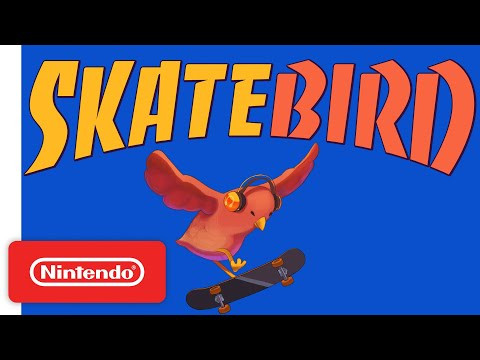 SkateBIRD - Announcement Trailer - Nintendo Switch