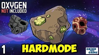 Oxygen Not Included - HARDEST Difficulty #1 - Grab All The Food - Launch Upgrade (Aridio) [4k]