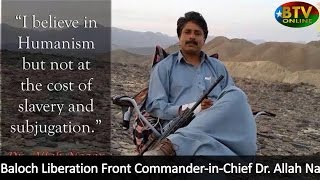 Dr Allah Nazar Baloch Details Baloch Resistance To Pakistan's Violent Occupation Of Balochistan