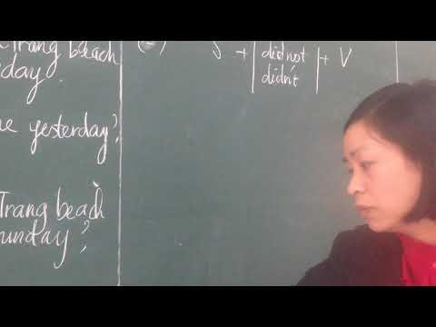 Bài giảng tiếng anh 6