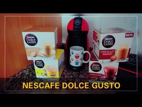 COMO USAR LA CAFETERA NESCAFE DOLCE GUSTO