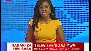 Leo Mashinani majadiliano: Televisheni zazimwa na mamlaka ya mawasiliano