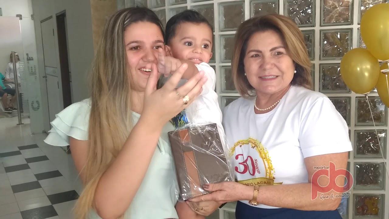 Laboratório de Análises Clínicas Dra. Aparecida Melo inicia programa para comemorar seus 30 anos de serviços a Sousa