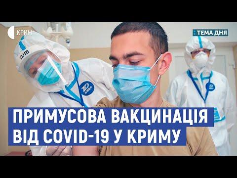 Примусова вакцинація від Covid-19 у Криму | Кориневич, Чийгоз | Тема дня