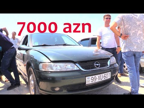 Maşın Bazarı-Canlı Satış 7.000 manatlıq Opel Bazarda Niyə Qaldı?