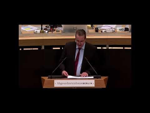 Plenarrede: Reaktivierung der Siemensbahn