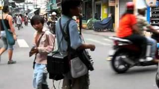 Blind Vietnamese guitar player