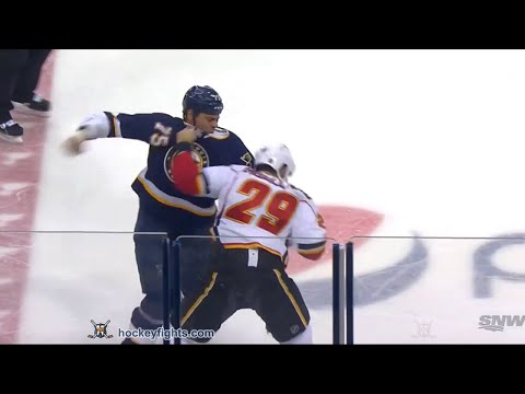 Ryan Reaves vs. Deryk Engelland