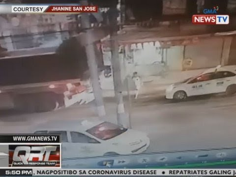 [GMA]  QRT: Binatilyo, sugatan matapos ma-hit and run ng motorsiklo