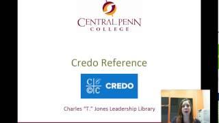 Credo Reference